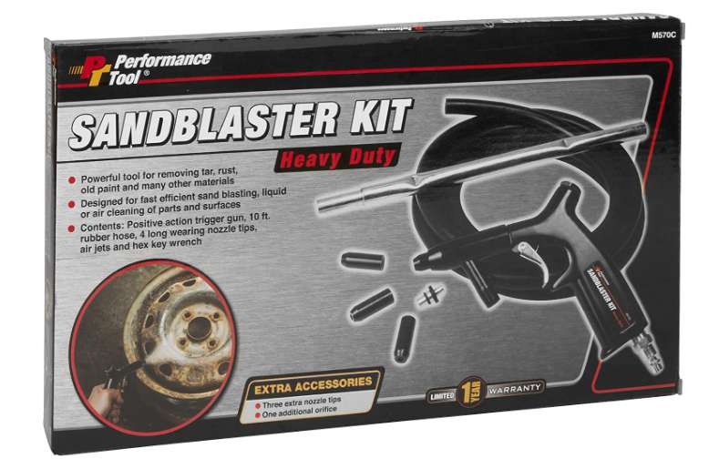 Performance Tool M570C Sandblaster Review