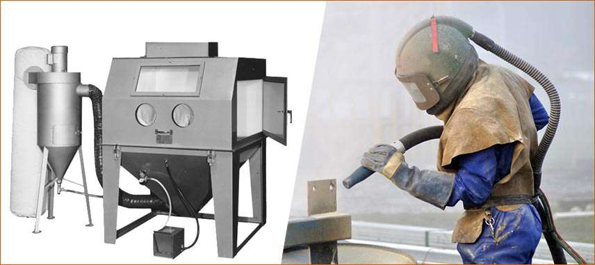 what is sandblasting used for